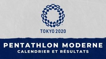 Pentathlon moderne – Jeux Olympiques de Tokyo calendrier et résultats