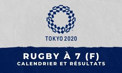 Rugby à 7 féminin - Jeux Olympiques de Tokyo calendrier et résultats