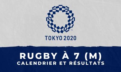 Rugby à 7 masculin - Jeux Olympiques de Tokyo calendrier et résultats