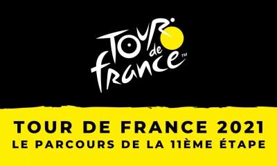 Tour de France 2021 - Le parcours de la 11ème étape