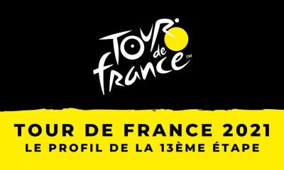Tour de France 2021 le profil de la 13ème étape