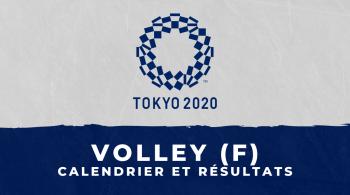 Volley-ball féminin – Jeux Olympiques de Tokyo calendrier et résultats