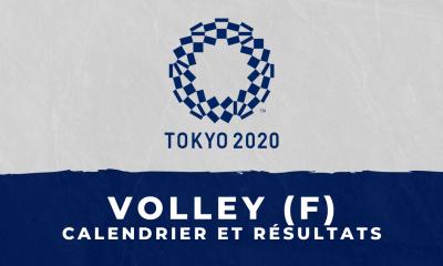 Volley-ball féminin - Jeux Olympiques de Tokyo : calendrier et résultats