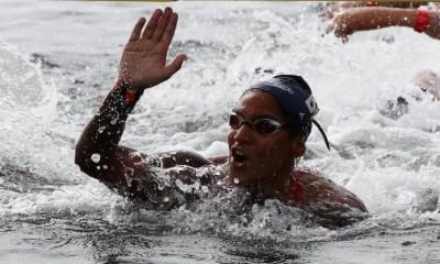 JO Tokyo 2020 - Natation eau libre Ana Marcela Cunha en or sur le 10 km