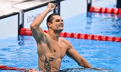Jeux - JO Tokyo 2020 - Natation Florent Manaudou en argent sur 50 m nage libre