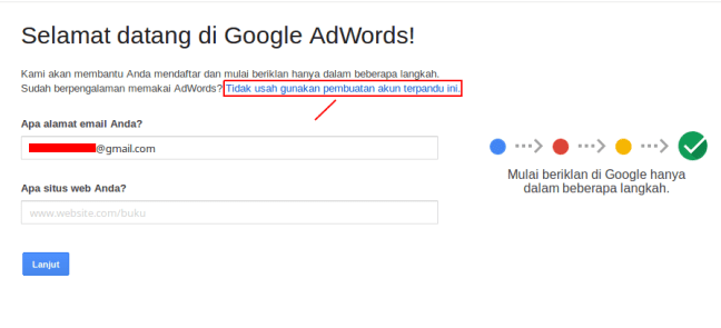 cara riset keyword - welcome to adwords
