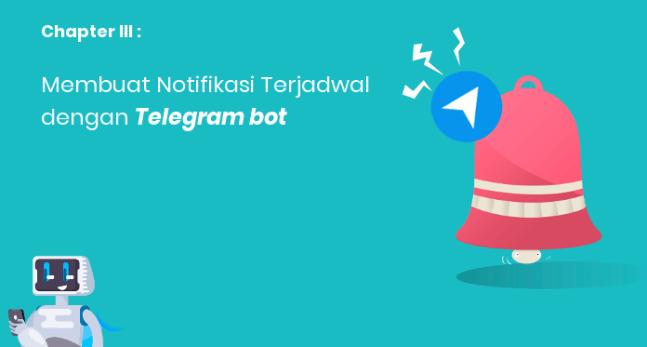 Membuat Telegram bot untuk Notifikasi