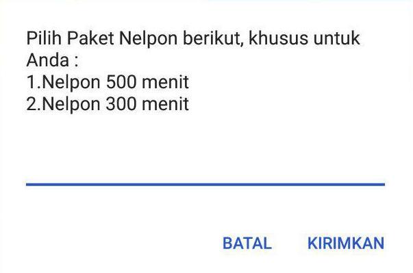 Paket Nelpon SimPati 25ribu All Operator
