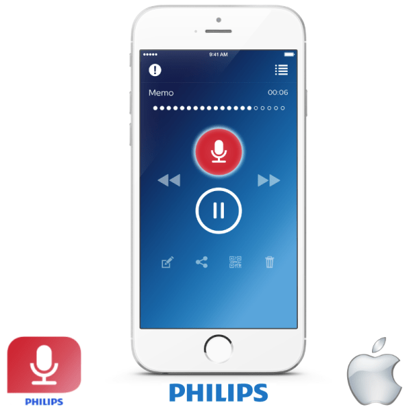 Buy Renew LFH0743 Dictation Hub 1 Year Licence for iPhone Philips Recorder App
