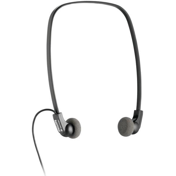 Philips Under Chin Transcription Typist headphones LFH0334