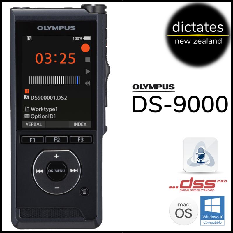 ds9000 Olympus DS-9000 Digital Dictation Dictaphone Voice Recorder Windows10 macOS