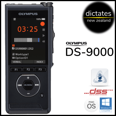 ds9000 Olympus DS-9000 Digital Dictation Dictaphone Voice Recorder Windows10 macOS