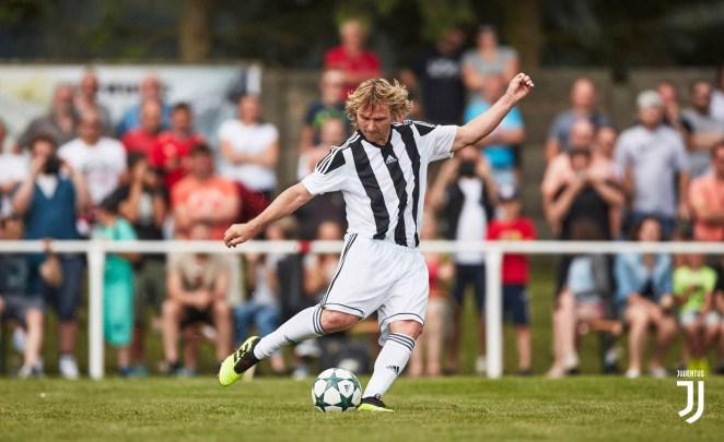 Pavel Nedved playing for Juventus