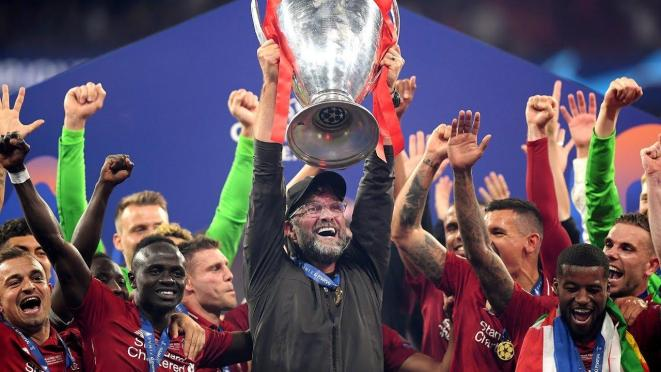 Liverpool and Klopp win Champions League