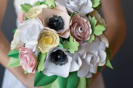 Paper flower wedding bouquet new artist 2018 new artist your wedding by lia griffith patterns and tutorials to make paper wedding flowers at home paper garden flower bouquet paper wedding flowers diy wedding mightylinksfo