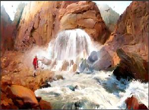 Jésus le rocher qui abreuve