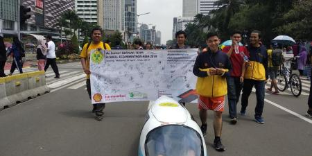 Batavia Team Dihujani Harapan di Car Free Day