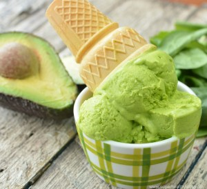 Creamy Avocado Ice Cream