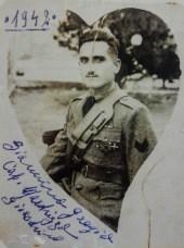 Ritratto del caporale Gioacchino Marchizza in guerra, 1942