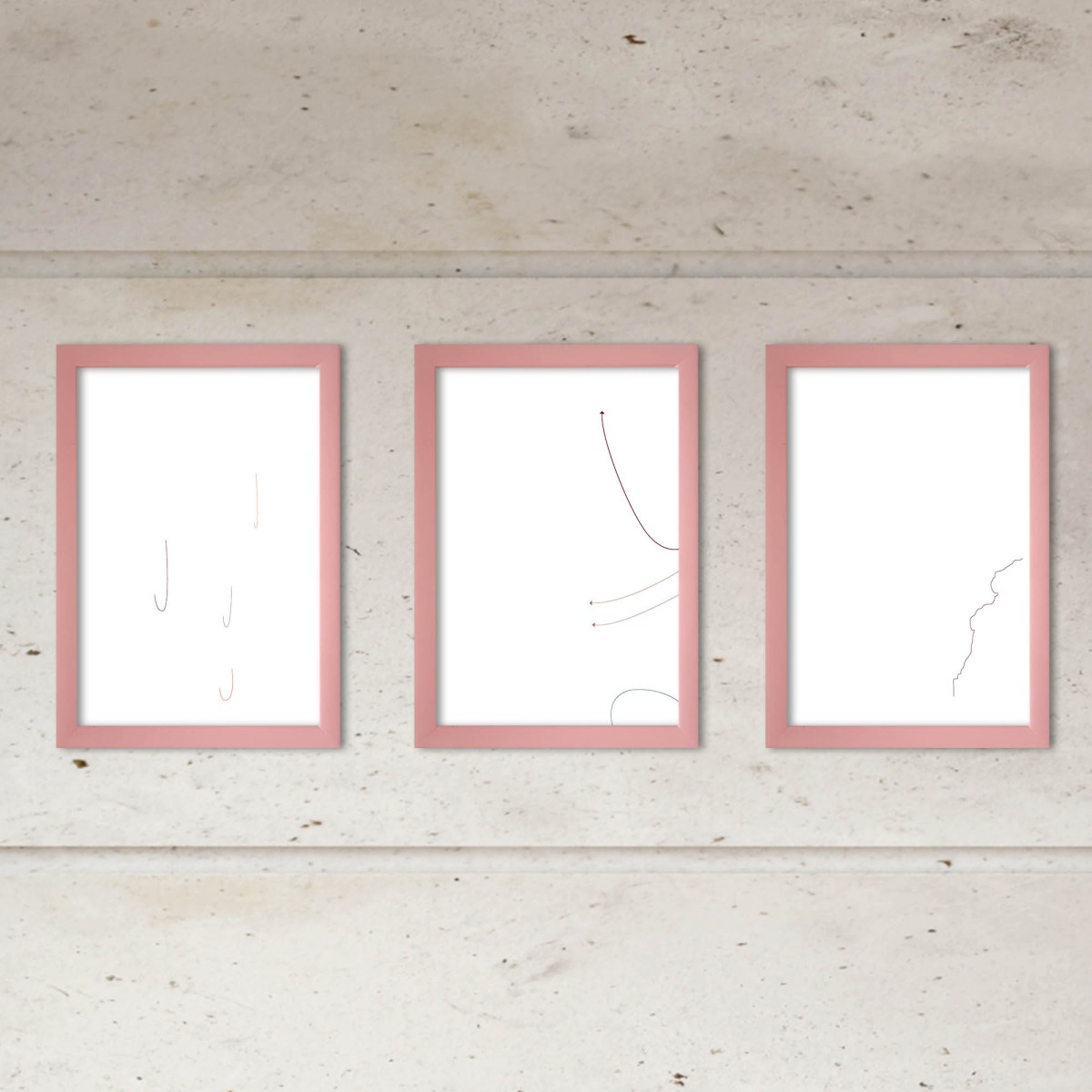 Fernanda Barreto, dibujo digital, las cosas infinitas #16 en espacio