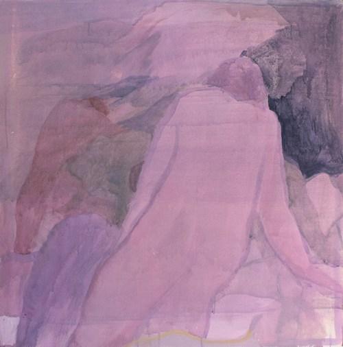 Pintura de óleo y acrílico sobre tela de la artista Mariana Paniagua