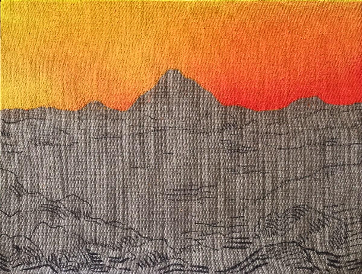 Pintura, Obra Horizonte de Alejandro Pintado