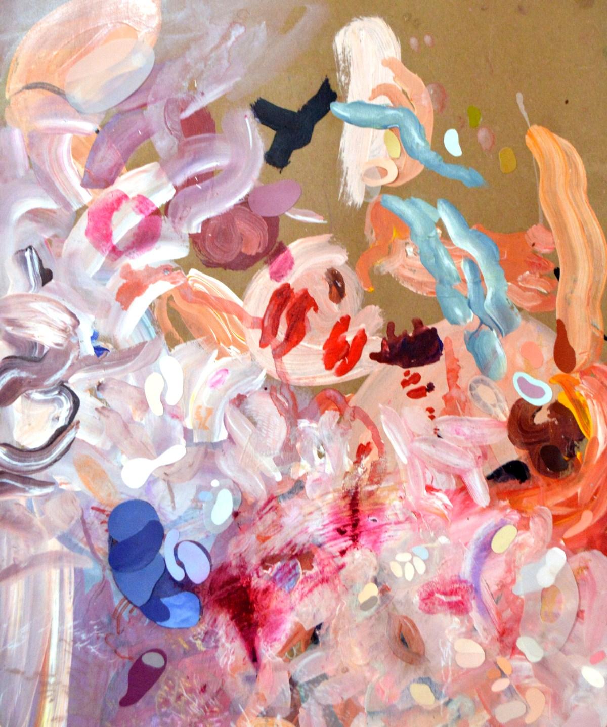 Pintura de Alan Hernández, sin título.