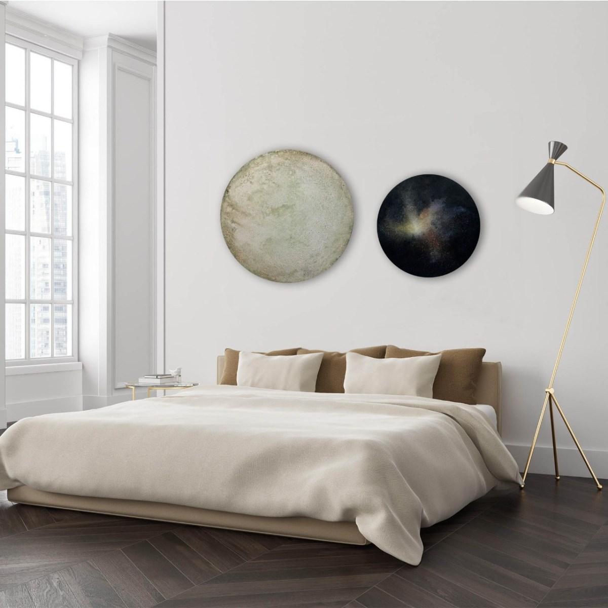Pintura, Antes del Presente #31 de Alejandra López-Yasky en cuarto