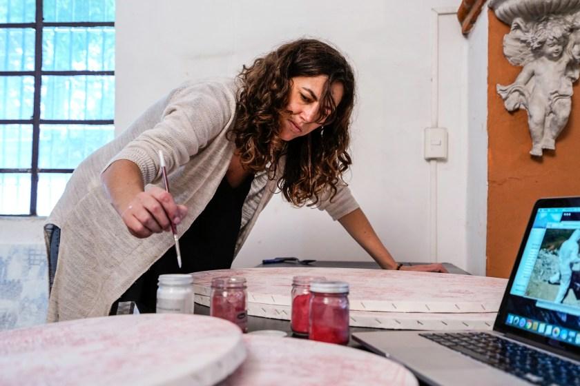 Artista María Campiglia