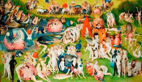 Le jardin des délices, Jérôme Bosch, détail. Musée du Prado