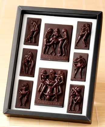 Kama Soutra chocolat