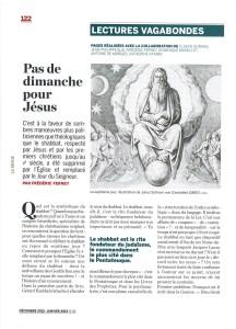 La Revue-Pas de dimanche pour Jésus-Page1