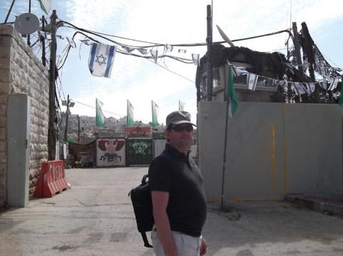 Tsahal camp, Al Shuhada street
