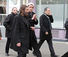 Marek Halter et Hassen Chalghoumi, Imam de Drancy qui nous salue