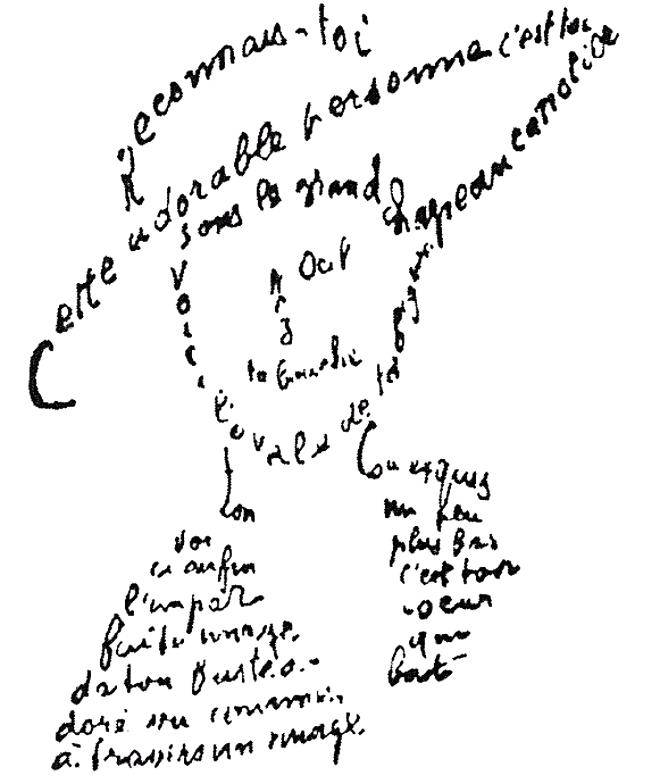 Guillaume_Apollinaire_-_Calligramme_-_Poème_du_9_février_1915_-_Reconnais-toi