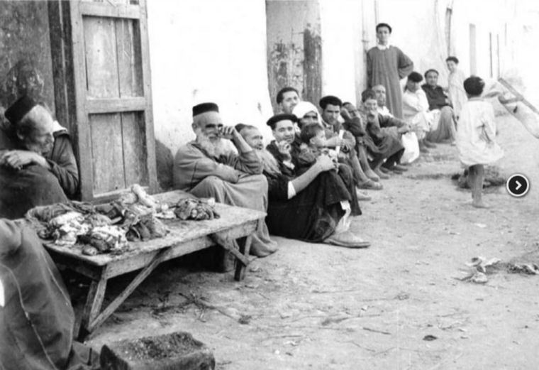 Juifs du Maroc vers 1950