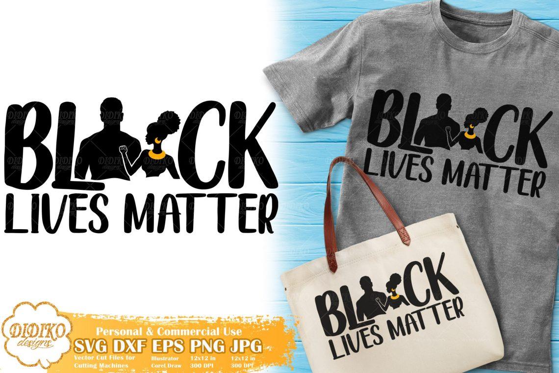 Download Black Lives Matter SVG #5 | Black Couple Love SVG | DIDIKO ...