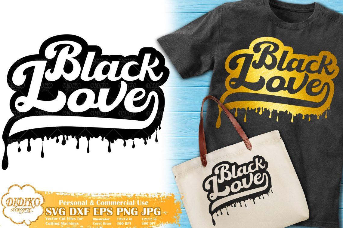 Download Black Love SVG #1 | Dripping svg | Black Couple Svg ...