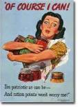 vintage rationing_housewife
