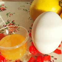 Egg White, Honey Facial Mask