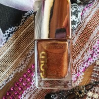 Catrice gold and with Acai Oil nail polish colors