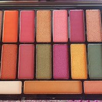Eyeshadow Palette Paradise Revolution Review