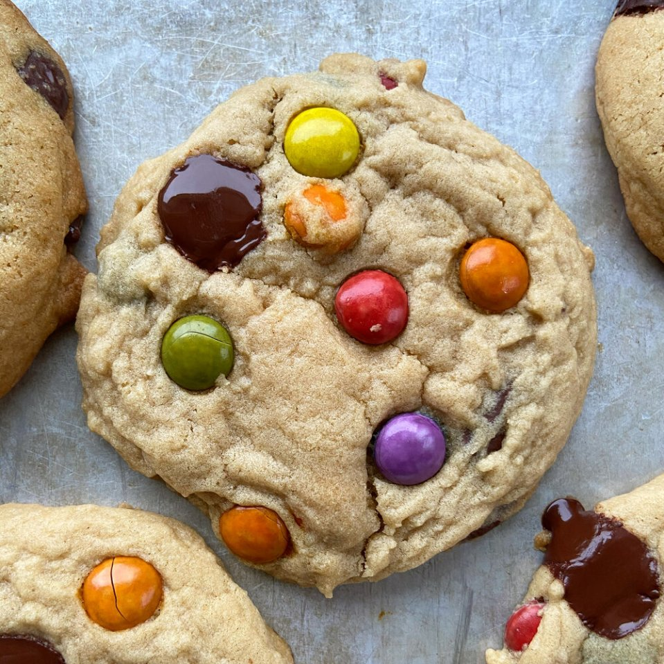 Chocolate Chip Cookies totally count as holiday cookies | Didnt I Just Feed You Podcast.JPG