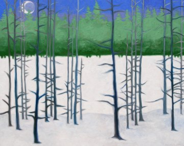 Crow Moon Waning - 24x30