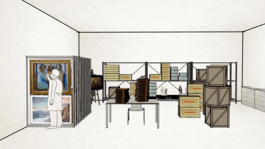 Kunst auf Lager - Erklärfilm & Erklärvideo Produktion - Scribble Video/ 3D