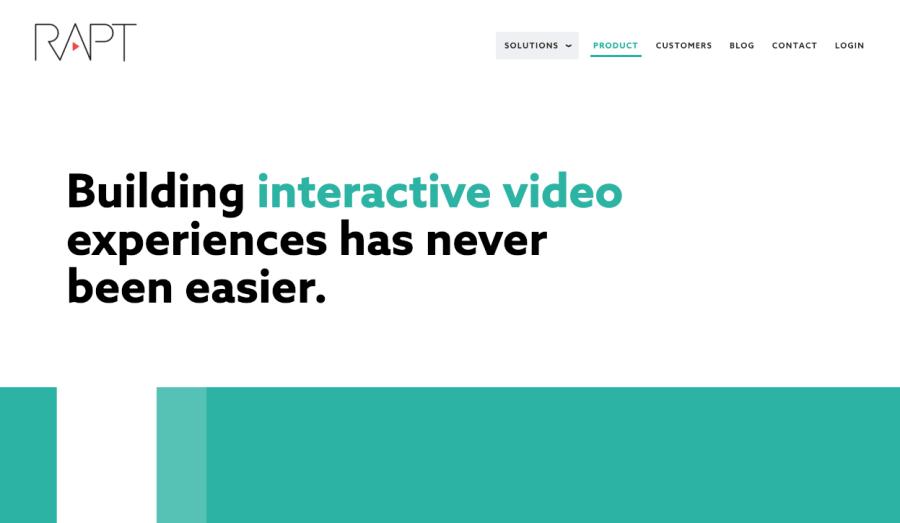 Interaktive Videos erstellen - Programme/Software, Baukasten/Maker - Anbieter/Agenturen raptmedi