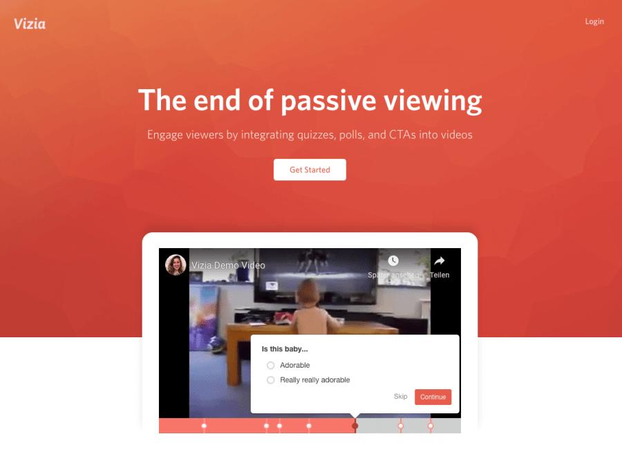 Interaktive Videos erstellen - Programme/Software, Baukasten/Maker - Anbieter/Agenturen vizia