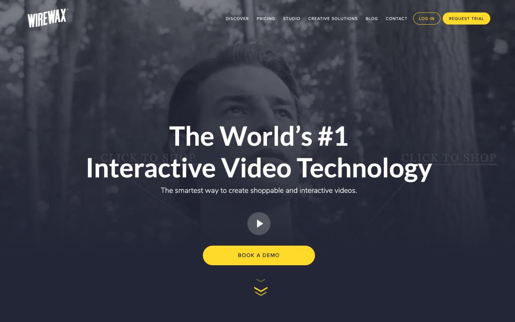 Videoanleitung  - Die besten Tools, Software & Anbieter zum Erstellen Ihres Videotutorial & Onlinekurs wirewax-1024x641