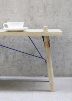Tisch Detailaufnahme