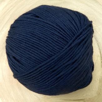 Bio Baumwolle ohne Gentechnik Nachtblau | Atelier Zitron | für Allergiker geeignet | © Die Maschen zum Glück